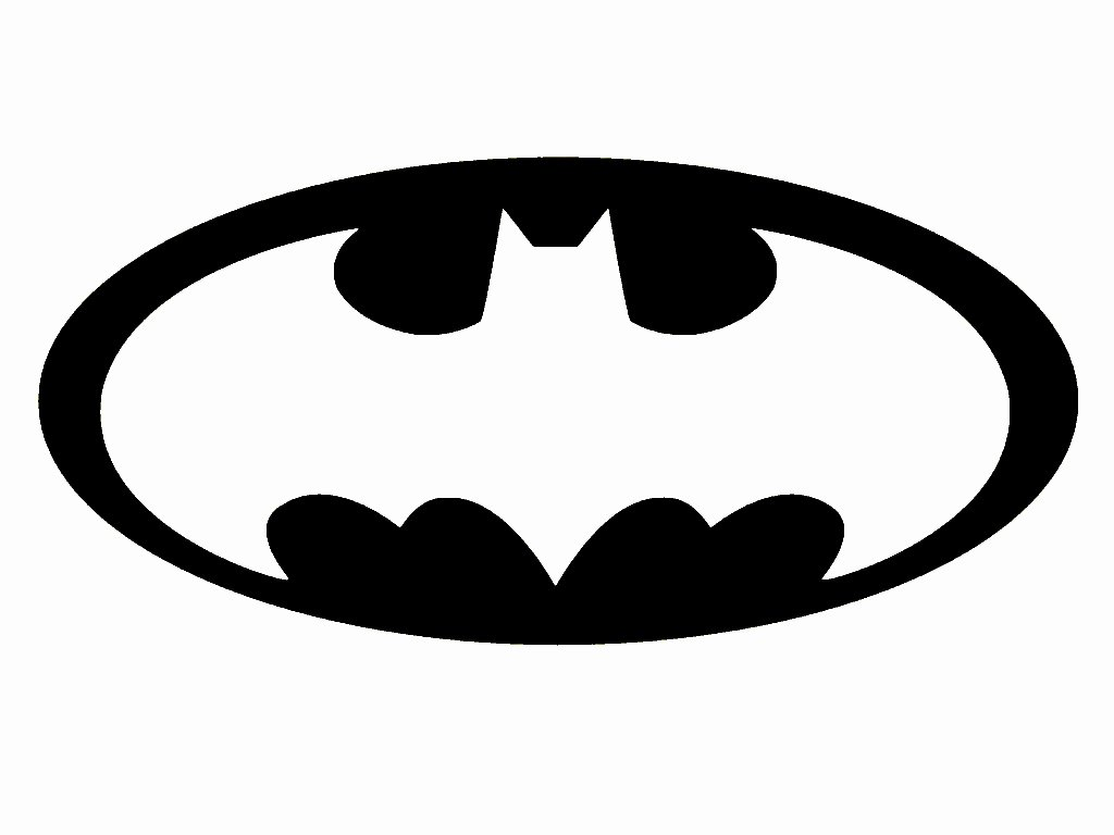 Free Printable Batman Logo Luxury Batman Symbol Template Clipart Best