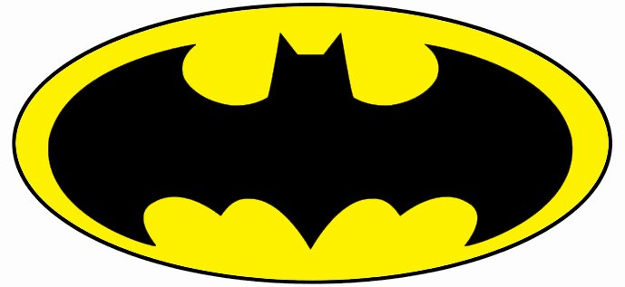 Free Printable Batman Logo New Printable Batman Logo Clipart Best
