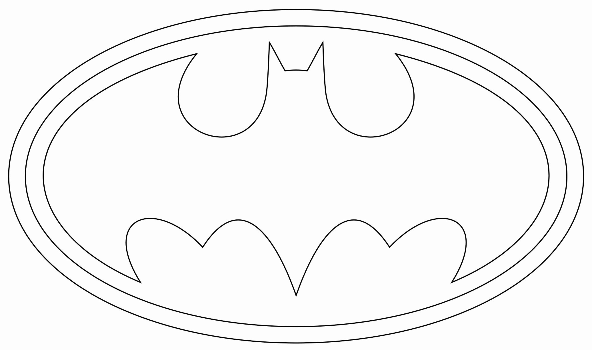 Free Printable Batman Logo New Printable Superman Logo Template Party Party