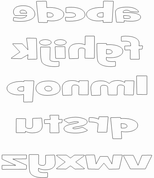 Free Printable Block Letters Awesome Printable Block Letters and Numbers for Scrapbooking and