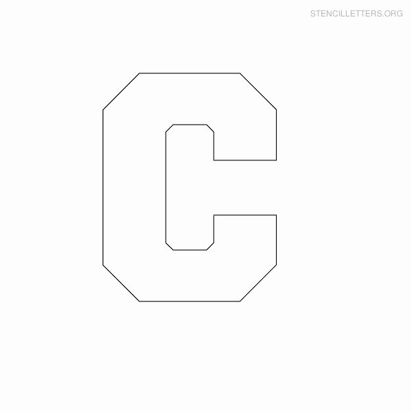 Free Printable Block Letters New Stencil Letters to Print Out for Free