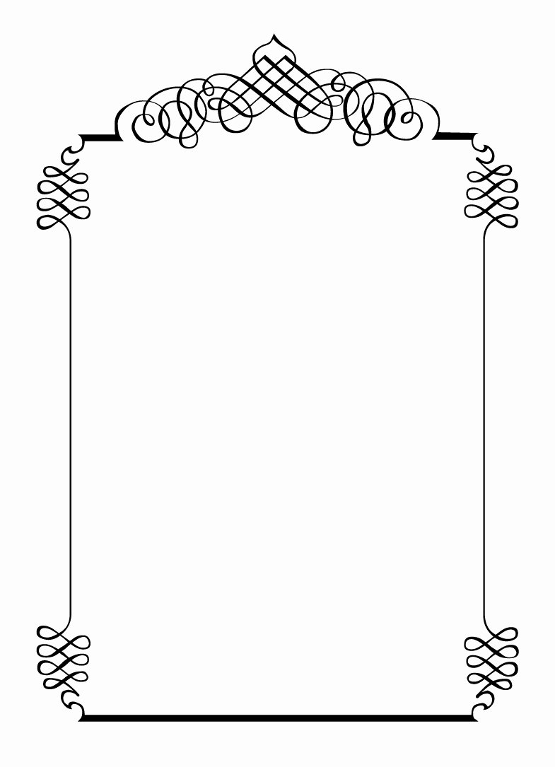 Free Printable Border Designs for Paper Beautiful Free Vintage Clip Art Images August 2012
