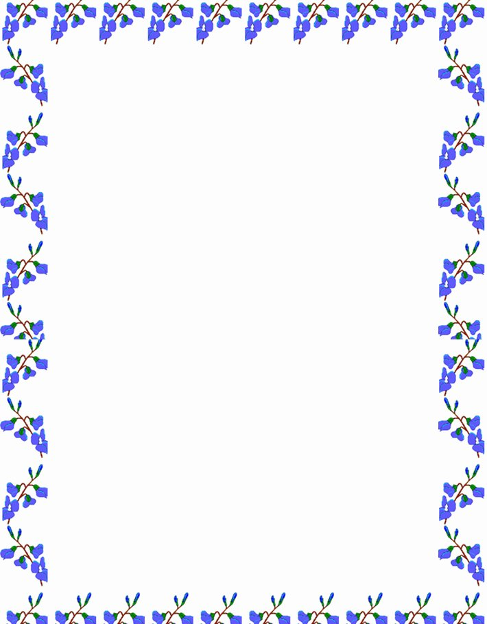Free Printable Border Designs for Paper New Writing Paper Number Border Student Print Student Print