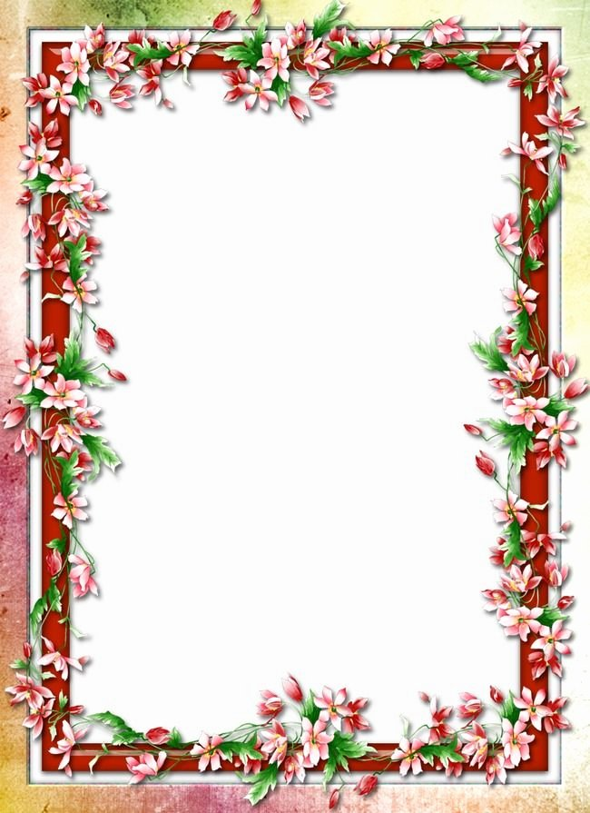 Free Printable Border Designs for Paper Unique Floral Border Design Image Border Frame Shading Borders