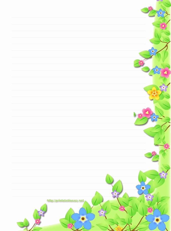 Free Printable Border Designs for Paper Unique Free Border Templates