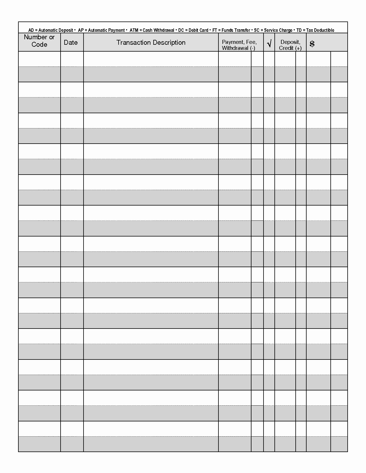 Free Printable Checks Template Awesome Optimus 5 Search Image Check Registers
