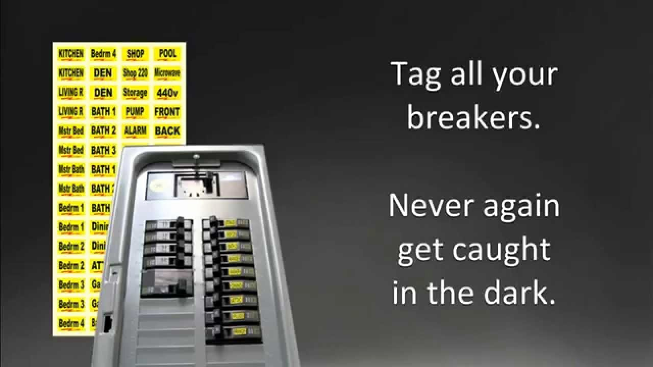Free Printable Circuit Breaker Panel Labels Unique Breaker Box Labels — organize Your Circuits with Our