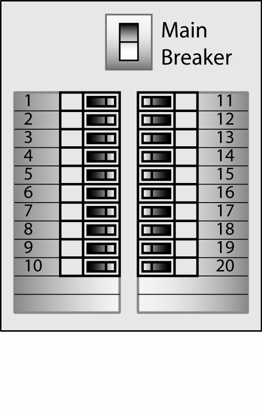 Free Printable Circuit Breaker Panel Labels Unique Electrical