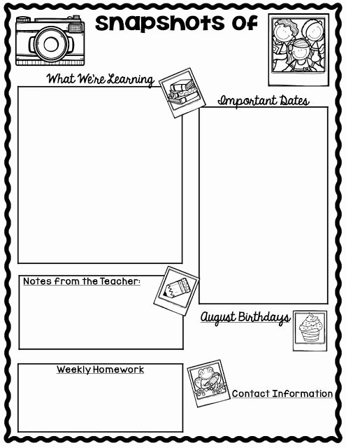 Free Printable Classroom Newsletter Templates Elegant Free Monthly Calendars and Newsletter Templates Finally