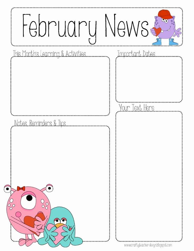 Free Printable Classroom Newsletter Templates Elegant Index Of Cdn 10 2009 113