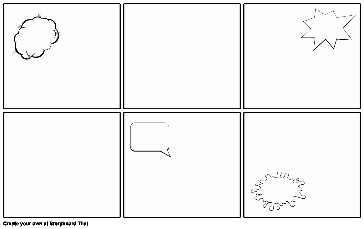 Free Printable Comic Strip Template Beautiful Blank Ic Strip Template Storyboard by Emily
