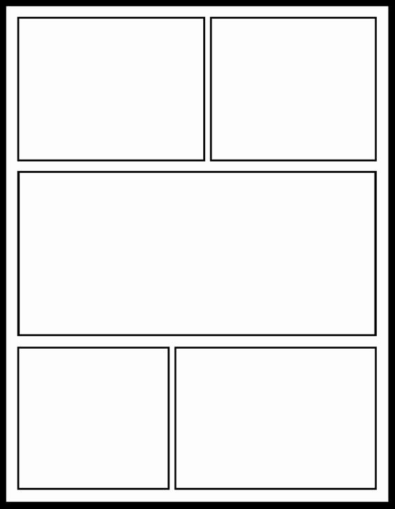 Free Printable Comic Strip Template Luxury Ic Template for My Ics Unit