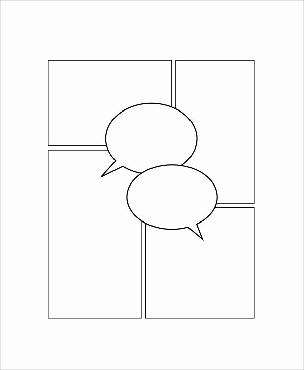 Free Printable Comic Strip Template Unique Ic Strip Template 7 Free Pdf Psd Documents Download