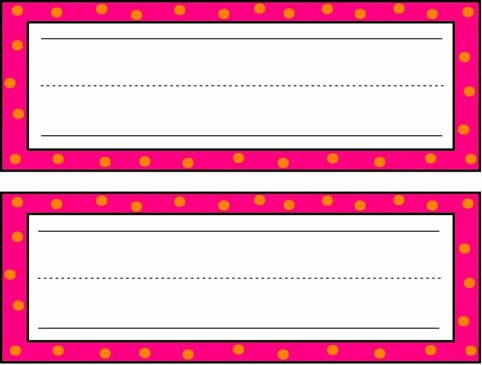 Free Printable Desk Name Plates for Students Fresh Preschool Printable Calendar Items