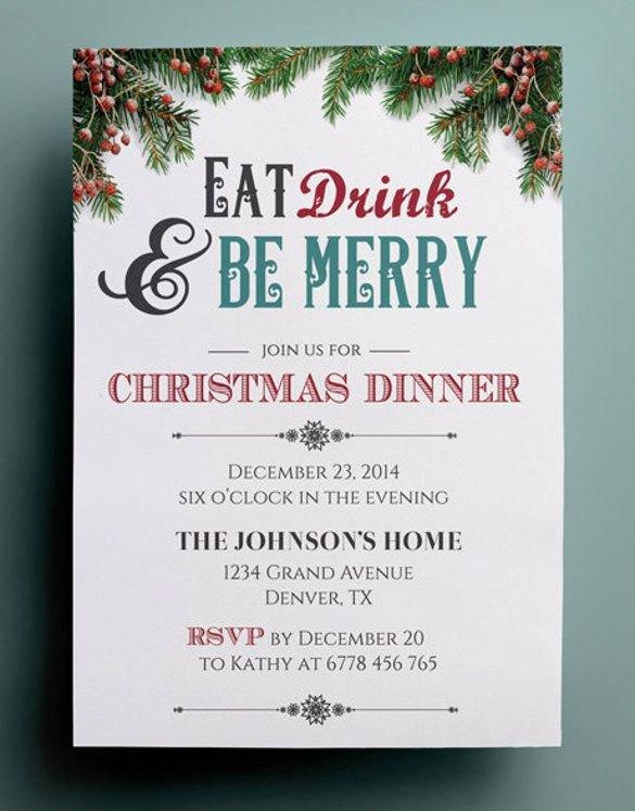 Free Printable Dinner Invitations Awesome 10 Dinner Invitation Templates