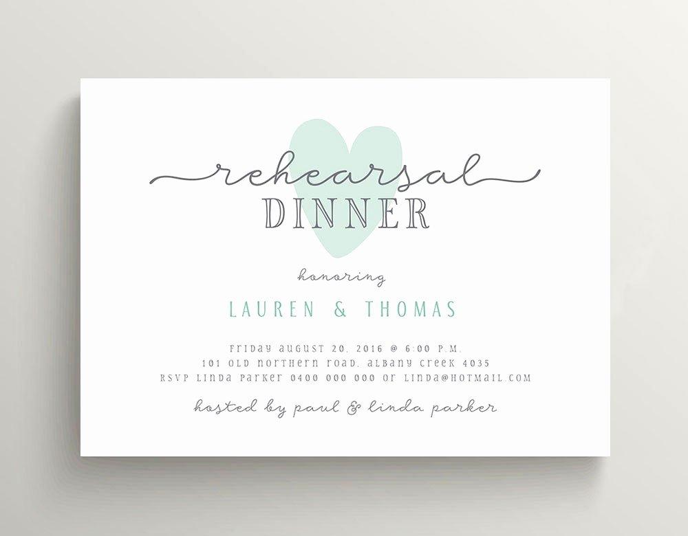 Free Printable Dinner Invitations Best Of Wedding Rehearsal Dinner Invitation Printable Invitation