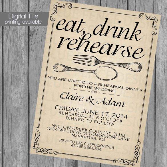 Free Printable Dinner Invitations Fresh 49 Dinner Invitation Templates Psd Ai Word