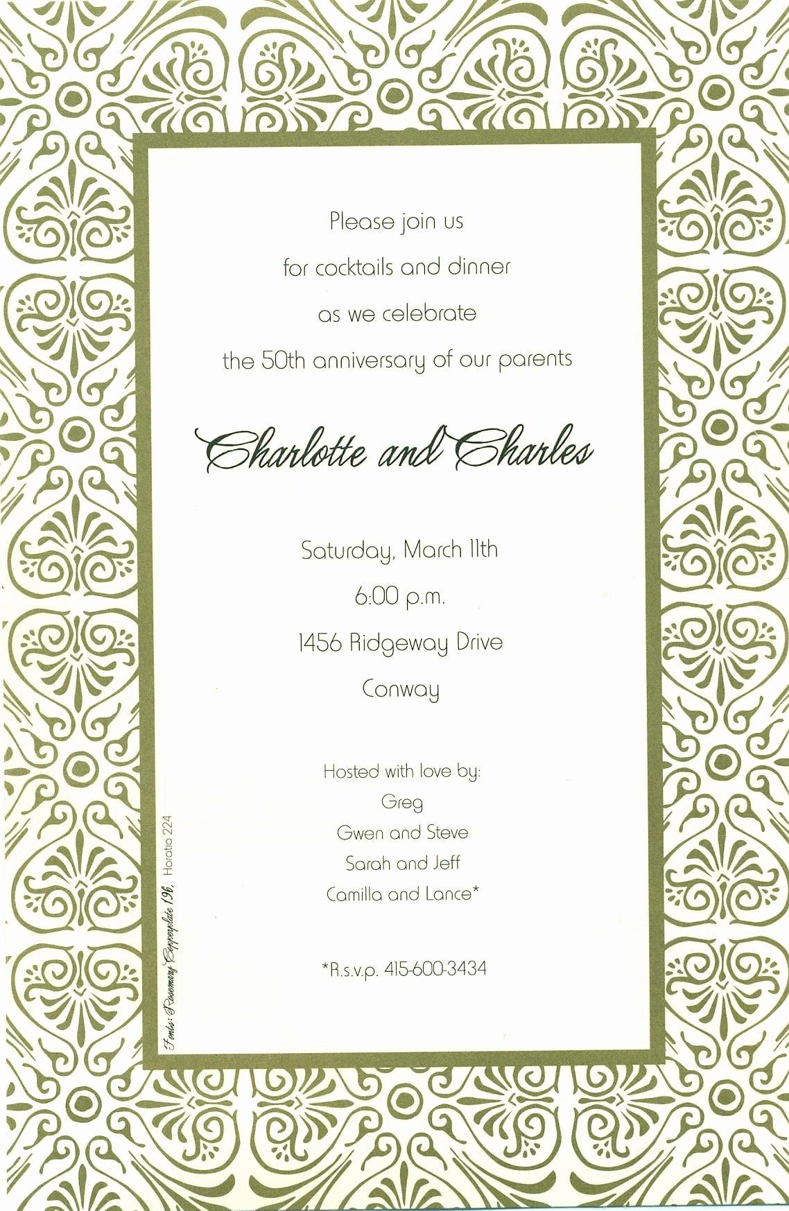 Free Printable Dinner Invitations Inspirational Free Printable Rehearsal Dinner Invitation Template