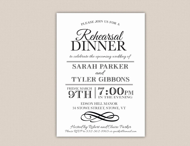 Free Printable Dinner Invitations Inspirational Unavailable Listing On Etsy