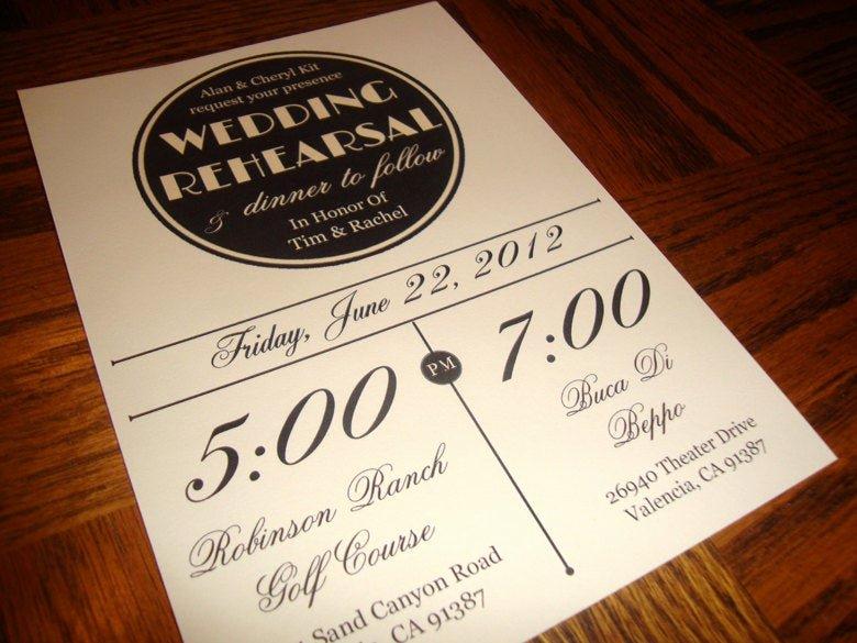 Free Printable Dinner Invitations Luxury Custom Printable Vintage Wedding Rehearsal Dinner Invitation