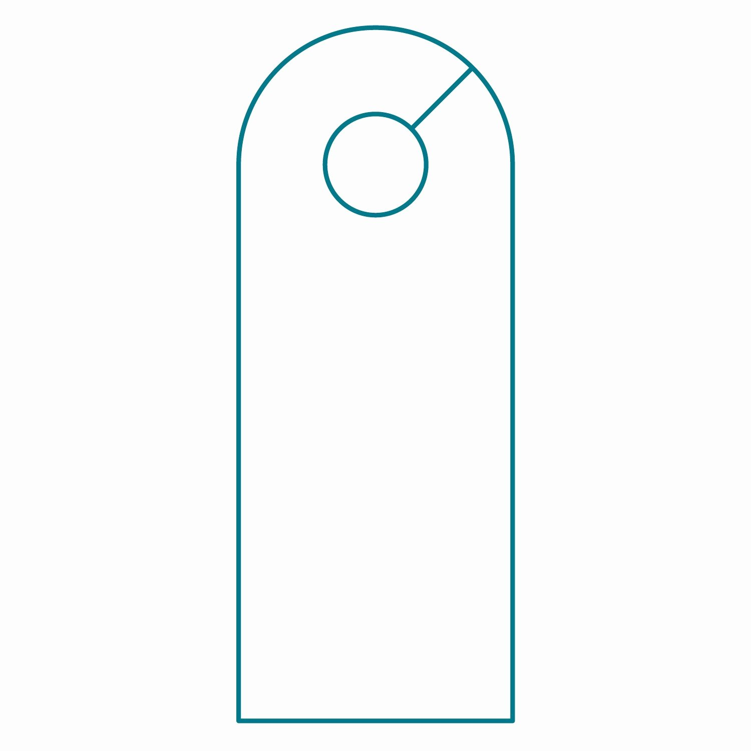 Free Printable Door Hanger Template Awesome Door Hanger Template Illustrator Templates Resume