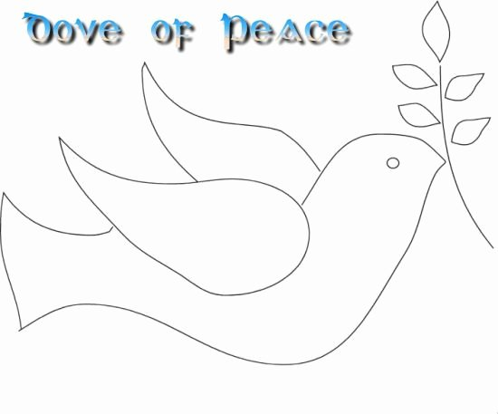 Free Printable Dove Template Best Of Printable Doves Of Peace