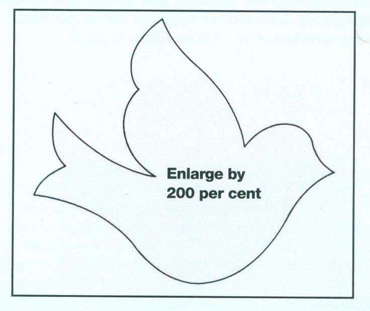 Free Printable Dove Template Elegant Best 25 Bird Template Ideas On Pinterest