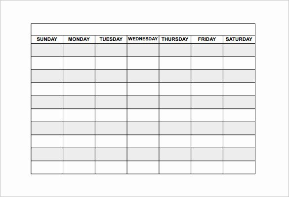 Free Printable Employee Schedule Fresh Employee Shift Schedule Template 15 Free Word Excel