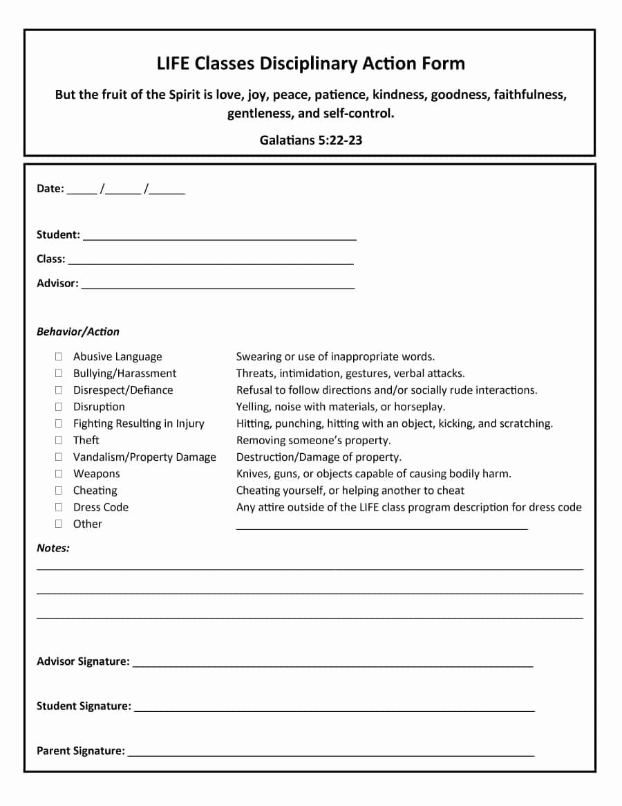 Free Printable Employee Write Up form Awesome 46 Effective Employee Write Up forms [ Disciplinary