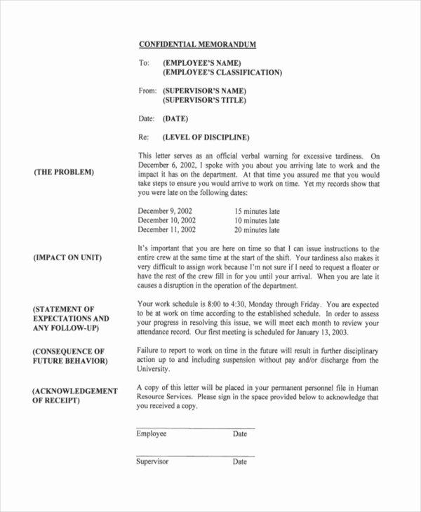 Free Printable Employee Write Up form Elegant Sample Employee Write Up form 8 Free Documents In Pdf Doc