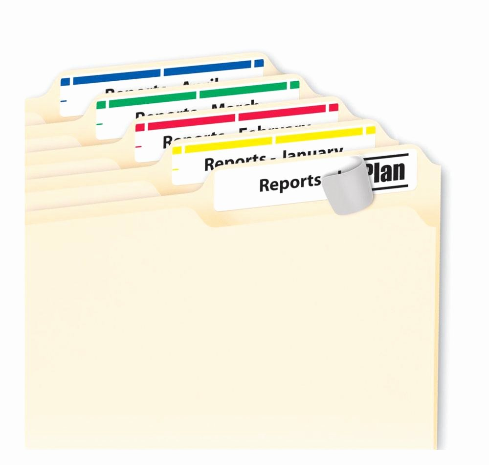 Free Printable File Folder Labels Fresh Amazon Avery Print or Write File Folder Labels for