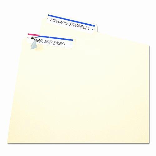 Free Printable File Folder Labels Inspirational Avery Print or Write File Folder Labels 11 16 X 3 7