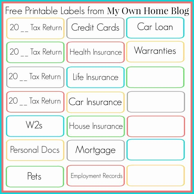 Free Printable File Folder Labels Lovely 11 Best Filing Filing Filing organizing the Paper