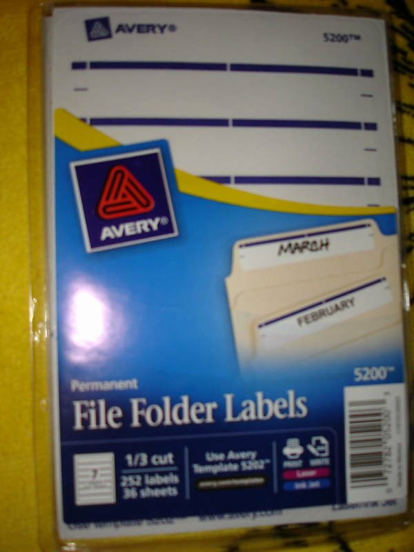 Free Printable File Folder Labels Luxury Avery Permanent File Folder Labels