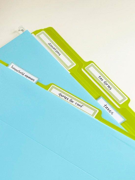 Free Printable File Folder Labels Luxury Free Printable Storage Labels