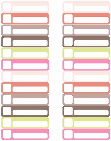 Free Printable File Folder Labels Luxury organization Labels Your File Folders Coupons Binders