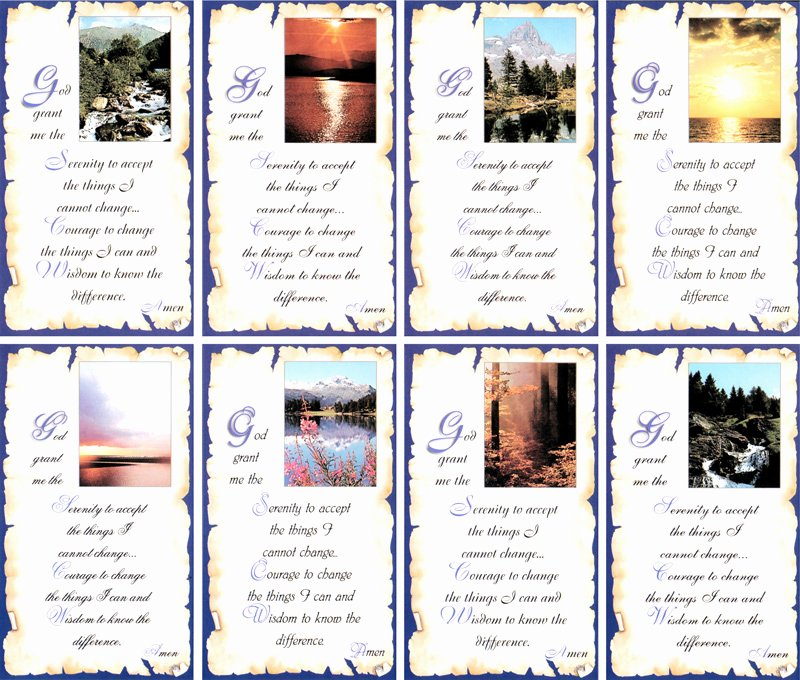 Free Printable Funeral Prayer Card Template Elegant Memorial Prayer Card Business Card Templates