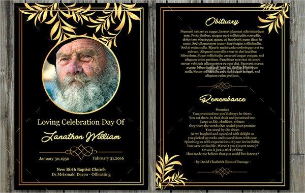 Free Printable Funeral Prayer Card Template Unique Funeral Prayer Card Template 21 Psd Ai Eps format