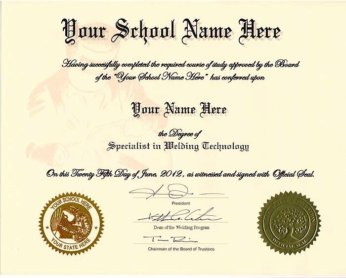 Free Printable Ged Certificate Best Of order Fake Welding Certificate Line Diplomas and More