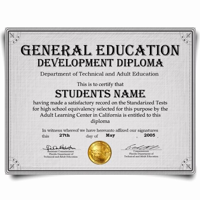 Free Printable Ged Certificate Inspirational Buy Fake Diplomas Realistic Degree Designs Best Phony