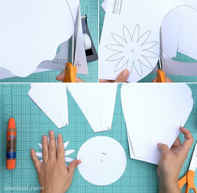 Free Printable Giant Flower Template Lovely How to Make Giant Paper Roses Plus A Free Petal Template