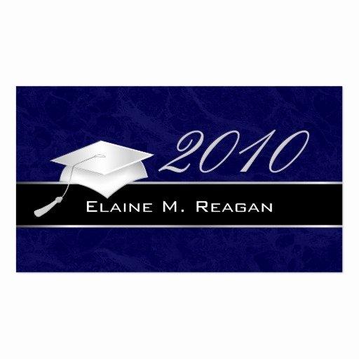 Free Printable Graduation Name Cards Fresh High School Graduation Name Cards 2010 Business Cards