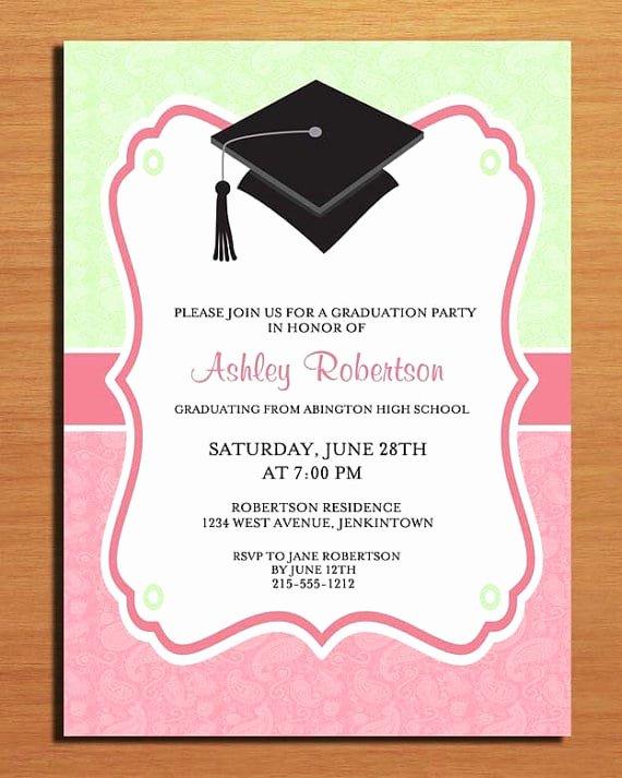 Free Printable Graduation Name Cards Luxury Free Printable Graduation Party Invitation Template