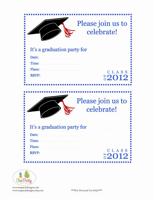 Free Printable Graduation Name Cards New Free Print Graduation Announcements Template Invitation