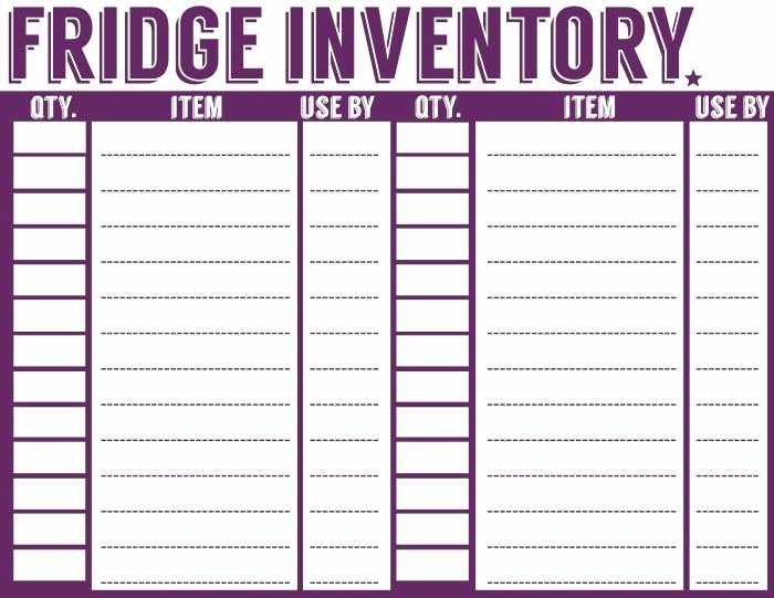 Free Printable Inventory Sheets Fresh 25 Best Ideas About Pantry Inventory Printable On