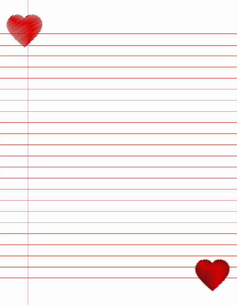 Free Printable Lined Stationary Elegant 14 Lined Paper Templates Excel Pdf formats
