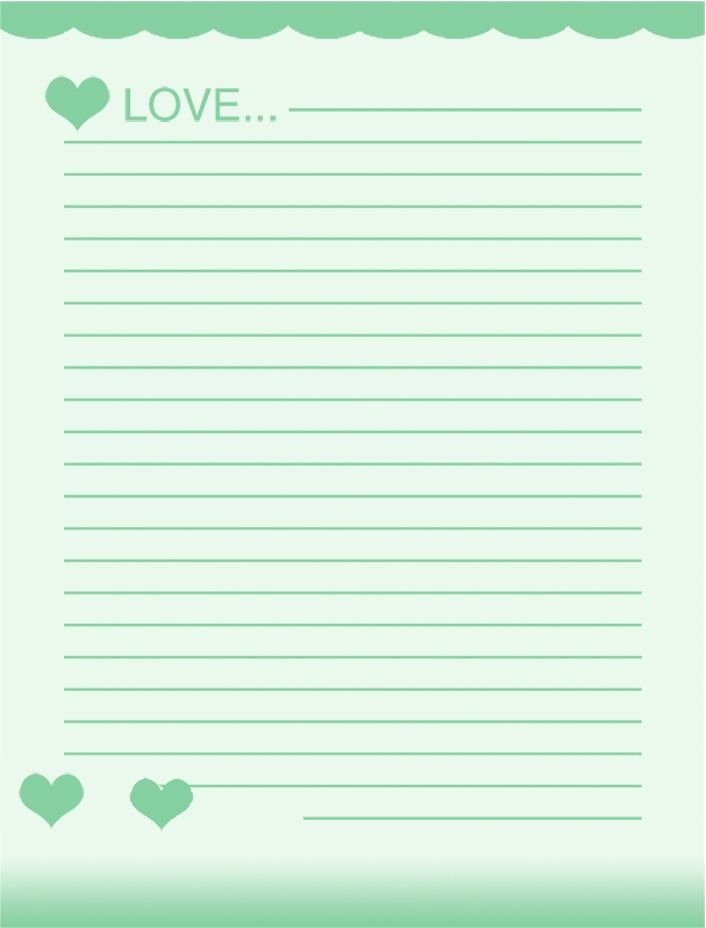 Free Printable Lined Stationery Best Of 40 Best Free Stationery Images On Pinterest