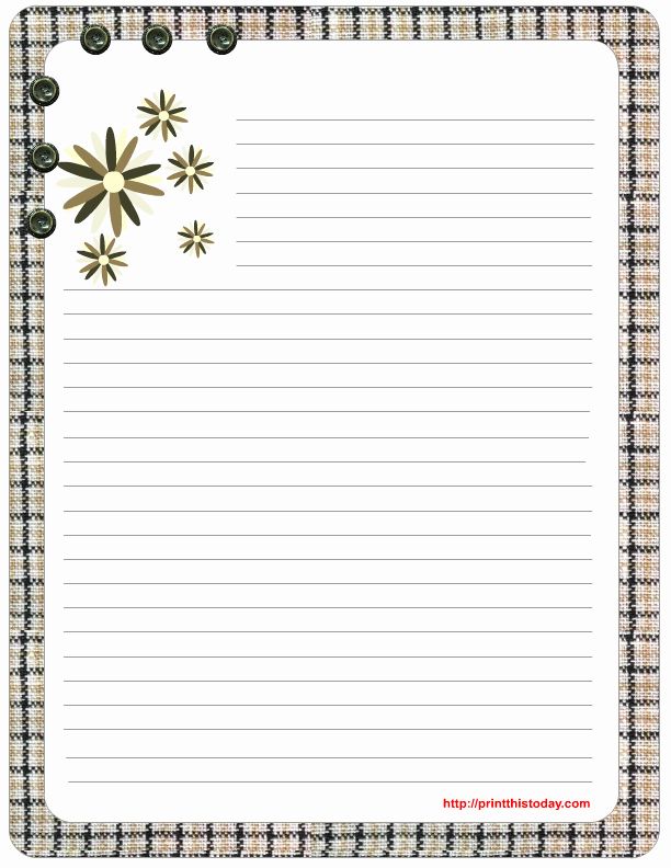 Free Printable Lined Stationery New Free Mother S Day Stationery Printables