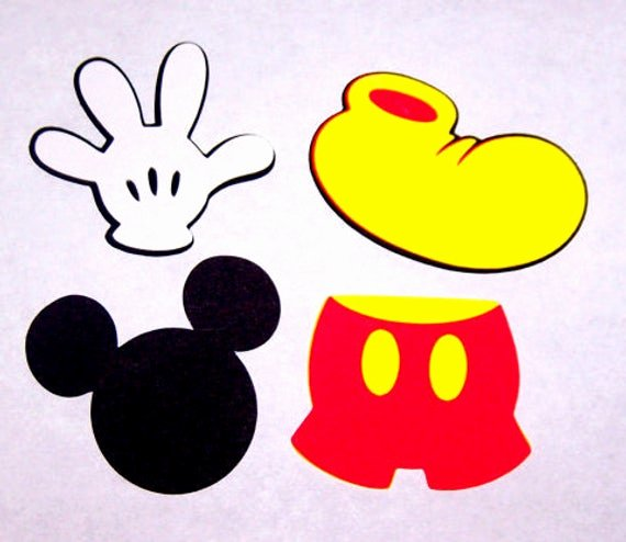 Free Printable Mickey Mouse Cutouts Awesome 32 Mickey Mouse 2 Inch Cut Shapes