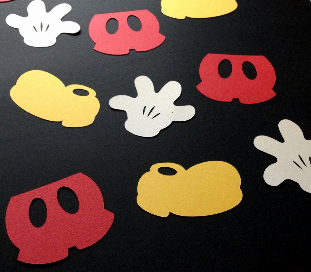 Free Printable Mickey Mouse Cutouts Awesome Kit De Recorte Festa Mickey E Minnie Para Silhouette R